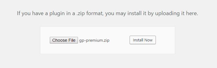 install gp premium